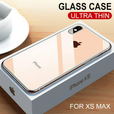 Coque Etui Tempered Glass pour Apple iPhone X XR XS MAX 8 7 6s Plus Coffret