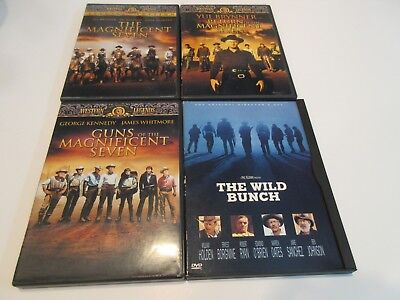 The Magnificent Seven (01) Return of.....(01) Guns of.....(04) Wild Bunch (96)