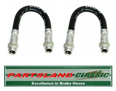 Pair 2x Brake Hoses fits TOYOTA CELICA ZZT23 1.8 Rear 99 to 05 Hydraulic New