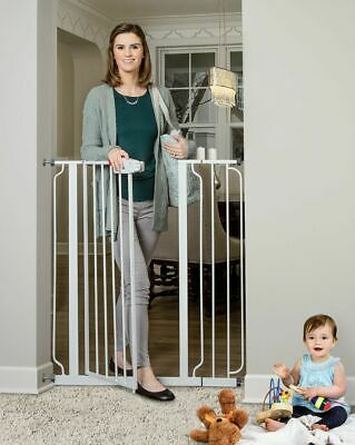 Regalo Easy Step Extra Tall Walk Thru Baby Gate, Includes 4-Inch Extension Kit