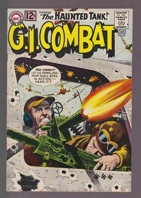 GI Combat # 97  The Decoy Tank : Grey Tone Cover !  grade 6.5 scarce book !