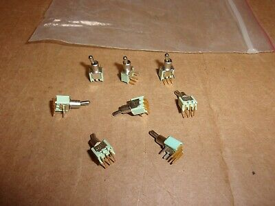 Alco TT-11 Toggle Switch , lot of 8