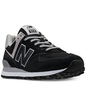separation shoes 192f2 5025f NEW MEN'S NEW Balance 574 Suede Casual Sneaker Shoes!!! In Black Gray  White!!!