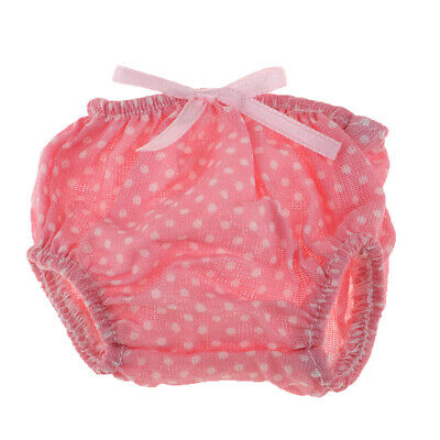 Lovely Wave Point Underpants for Mellchan Baby Doll Girl Dolls Clothes