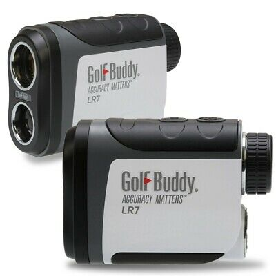 NEW Golf Buddy LR7 Golf GPS Laser Range Finder 6X Magnification Vibration
