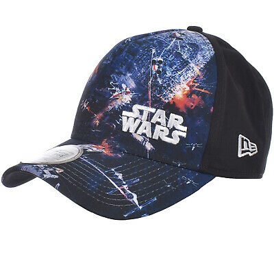 e13d212b NEW ERA MENS 9FORTY Star Wars XWing Adjustable Snapback Baseball Trucker  Hat Cap