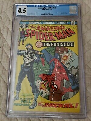 Amazing Spider-Man #129 (Feb 1974, Marvel) cgc 4.5 (unpressed)