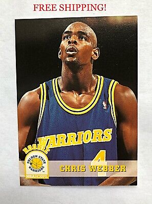 Lot Of 2 1994 Chris Webber Rookie Cards Classic Draft Picks
