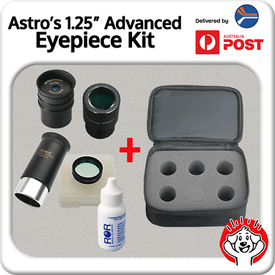 "1.25"" Advanced Eyepiece Kit from Astro Dog – It's just better!"