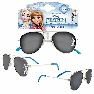 Girls Character Metal Sunglasses UV protection for Holiday - Disney Frozen