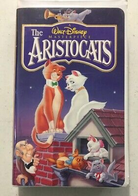 A Walt Disney Masterpiece The ARISTOCATS VHS
