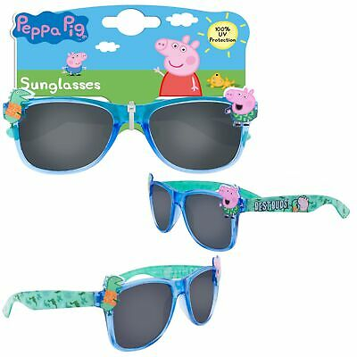 Boys Character Sunglasses UV protection for Holiday - Peppa Pig Blue