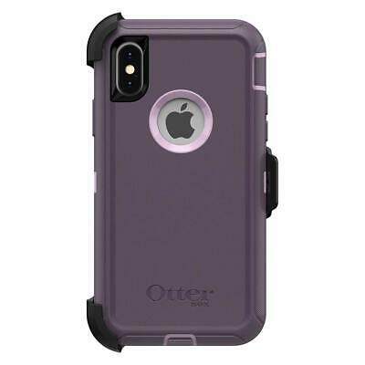 OtterBox DEFENDER SERIES Case & Holster for iPhone Xs Max (ONLY) - Purple Nebula