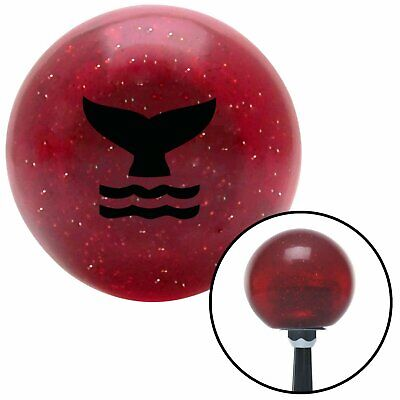 American Shifter 293525 Shift Knob Black 6 Speed Shift Pattern - Dots 20 Ivory Flame with M16 x 1.5 Insert