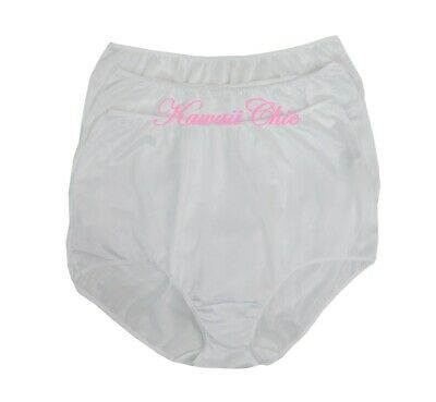 dfe69189fe3a VINTAGE SEARS FUNDAMENTALS Nylon Briefs 3 Pair Panties Women's Size ...