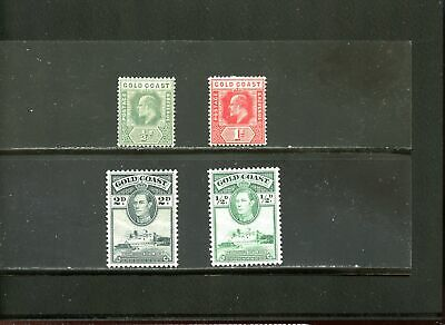 Lot 78157 Mint H   Gold Coast Stamp From British Colony King Edward V11