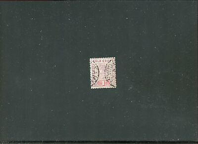 Lot 78167 Used 27 Gold Coast Stamp From British Colony Queen Victoria