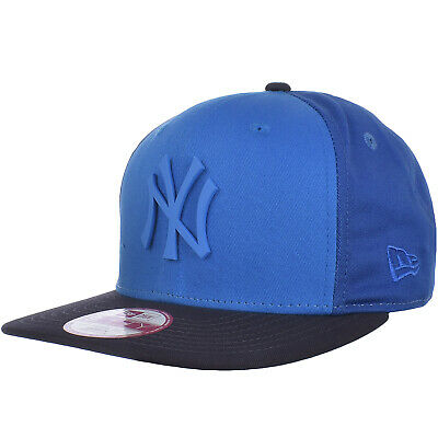 check out 3414d 70ba9 New Era Mens MLB 9FIFTY Snapback Baseball Hat Cap - Blue NY Yankees - S