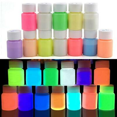 20g Glow in the Dark Acrylic Luminous Paint Bright Pigment Party Decoration UK