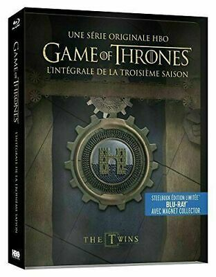 Game of Thrones (Le Trone de Fer) - Saison 3 - Edition limitee Steelbook - Blu-r