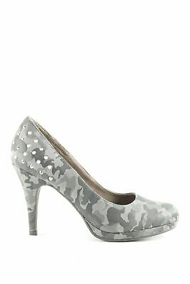 TAMARIS PLATEAU PUMPS CAMOUFLAGEMUSTER Party Look Damen Gr