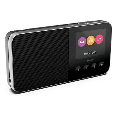 Pure MOVE-T4-BLACK DAB+FM Rechargeable Radio with Bluetooth - *Box Open*