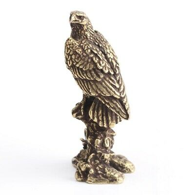 China'S Archaize Eagle Small Statue Valuable Collection Of Beautiful Bronze S L2