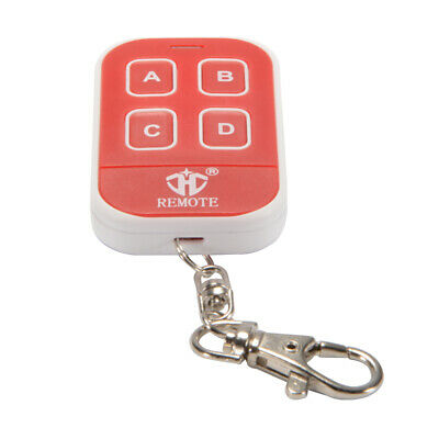 433mhz Universal RF Cloning Remote Control Key Fob for Electric Gate Red AH488