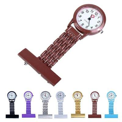 New Stainless Steel Quartz Fob Watch Brand Hot Nurse Time Piece Watches Silver