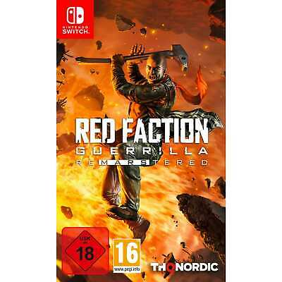 Red Faction Guerrilla Re-mars-tered Nintendo Switch Spiel Remastered NEU&OVP