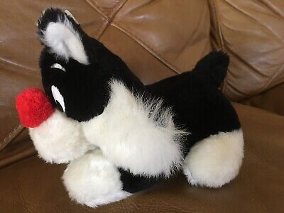 Vintage 1971 Warner Brothers Bros Mighty Star Sylvester Cat Plush Jr Rare