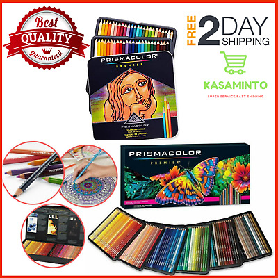 Prismacolor Premier Colored Pencils, Soft Core, 150 Pack Light Fast Ultra-Smooth