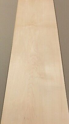 "Maple Wood Veneer: 4 Sheet (40"" X 10"") 11 Sq Ft"