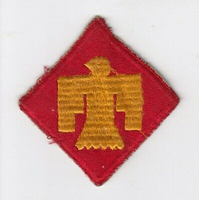 Us Army Patch - 45Th Infantry Division - Original Wwii