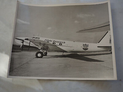 "UNITED AIRLINES Boeing 247 flight Research Aircraft PHOTO 1950 8"" X 10"""