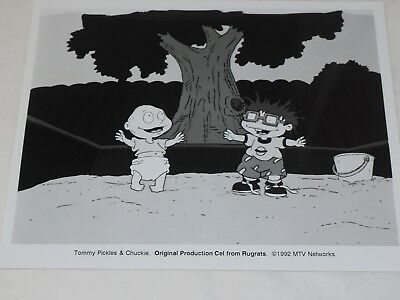 Tommy Pickles & Chuckie Original Rugrats Photo de Production Cell 8 X 10 Mtv
