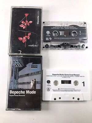 Depeche Mode Cassette Tale Lot Of 2 Violator & Some Great Reward