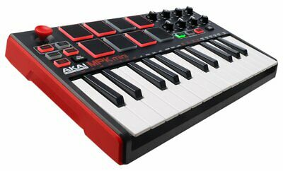 Akai Professional USB MIDI Keyboard Controller 8 Pads MPK mini MK2 Normal F/S