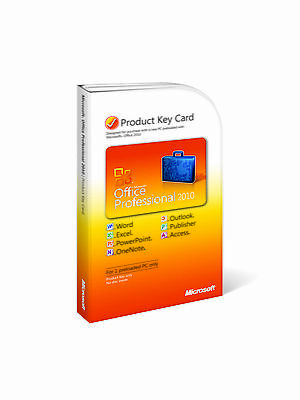 MS Office 2010 Pro Plus Genuine Key For 1 PC E-mail Delivery + Download
