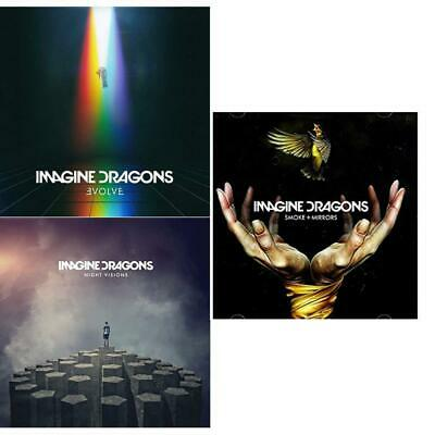 Imagine Dragons [Evolve - Night Visions - Smoke + Mirrors] Coplete Studio Albums