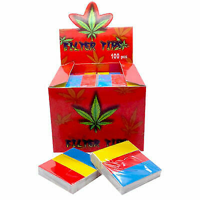 Roach Tips Splif Weed Filter Multi Colour Books 6 Booklets