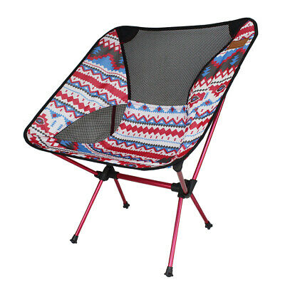 Poid PORTABLE Camping Chaise Pour Pêche SIÈGE CHAISE Léger thdoQxsCrB