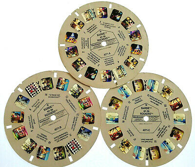 """VIEW MASTER 3D REEL """" BARBIE and the ROCKERS """" 
