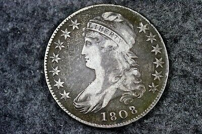 Estate Find 1808/7 - Capped Bust Half Dollar!!  #H6792