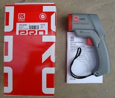 RS PRO No.1327 INFRARED THERMOMETER IN EXCELLENT / BOXED CONDITION