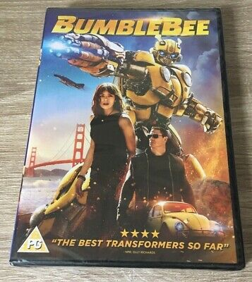 Bumblebee Dvd (2019) Transformers Film Kids Family Fun Bniw New Release Sealed
