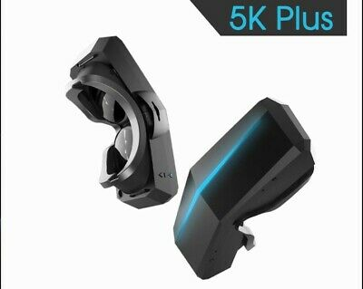PIMAX 5K+ VR headset with Vive Pro Controllers and