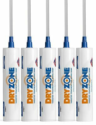 Dryzone Damp Proofing Injection Cream | 5 X 310ml Tubes