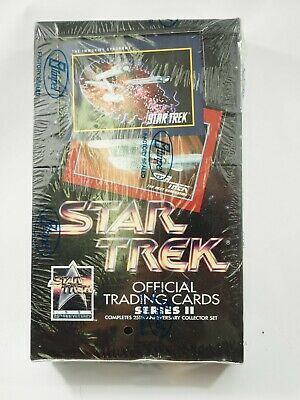 Star Trek Official Trading Cards 1991 Impel Factory Sealed Box