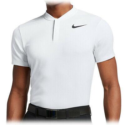 eb720472 $90 Mens MEDIUM Rare White Nike AeroReact Golf Blade Polo Shirt 883989-101  tw M
